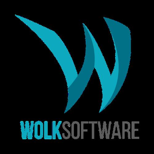 Logo W con letras Wolk Software